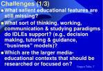 challenges 1 3