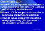 challenges 2 3