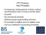 fp7 finance key principles