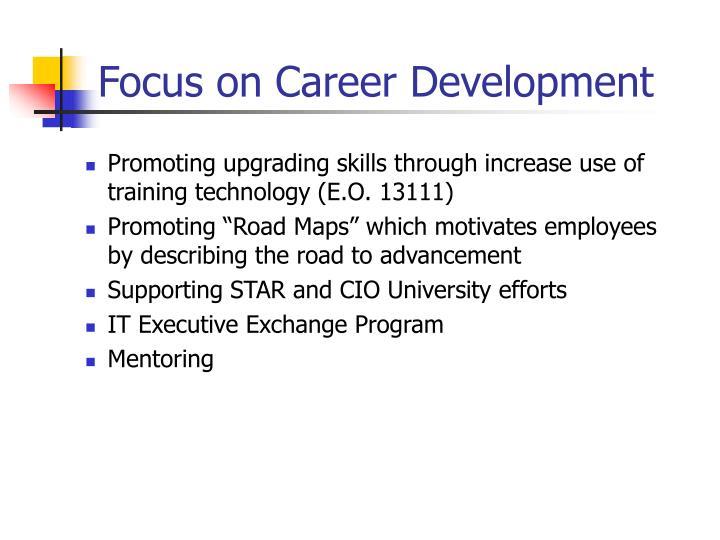 Focus on Career Development