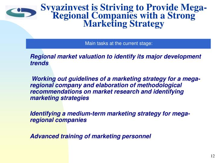 Svyazinvest is Striving to Provide Mega-Regional Companies with a Strong Marketing Strategy