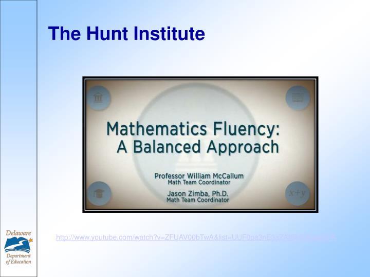 The Hunt Institute