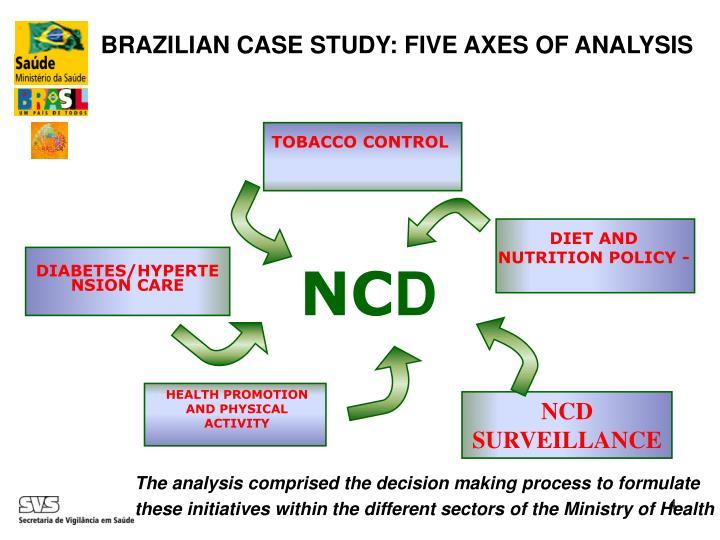 BRAZILIAN CASE STUDY: FIVE AXES OF ANALYSIS