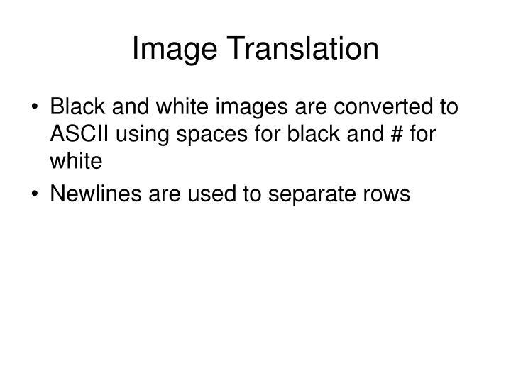 Image Translation