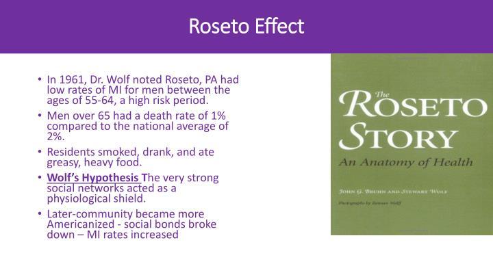 Roseto Effect