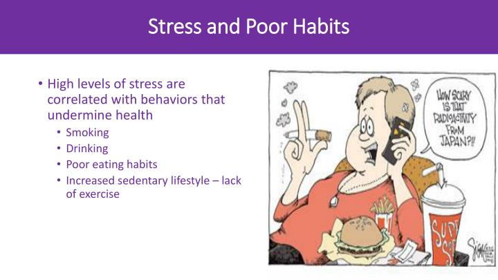 Stress and Poor Habits