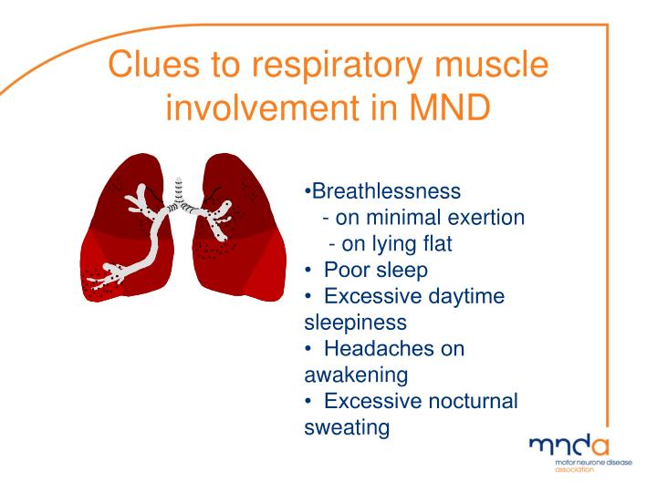 Clues to respiratory muscle involvement in MND