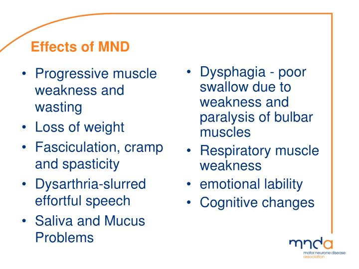 Progressive muscle weakness and wasting