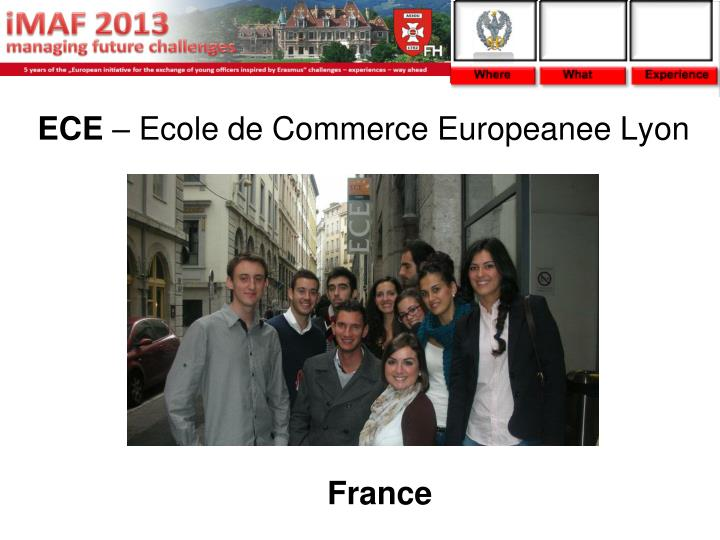 Ece ecole de commerce europeanee lyon