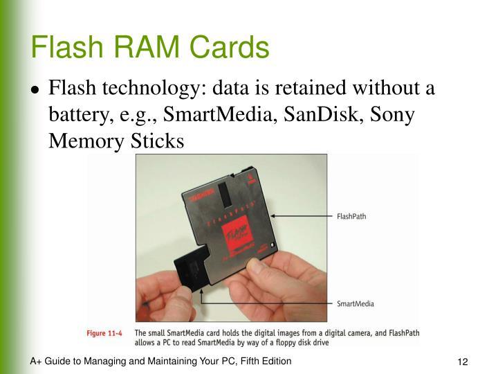 Flash RAM Cards