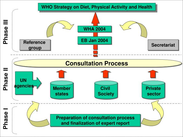 WHO Strategy on Diet, Physical Activity and Health