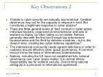 key observations 2