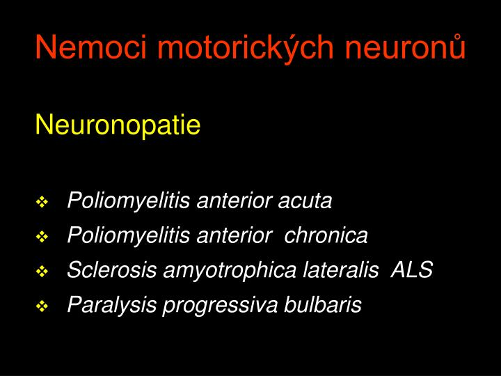 Neuronopatie