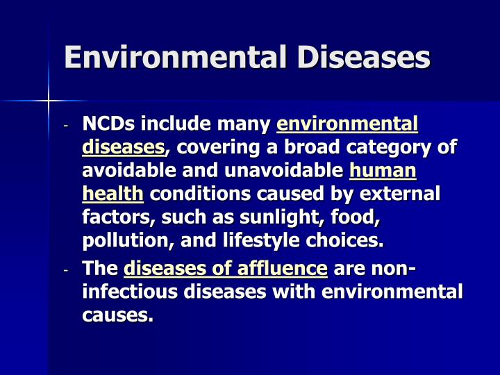 what are the major controllable risk factors for contracting infectious diseases The total number of people dying from chronic diseases is double that of all infectious diseases  (risk factors) of chronic diseases  major modifiable risk.