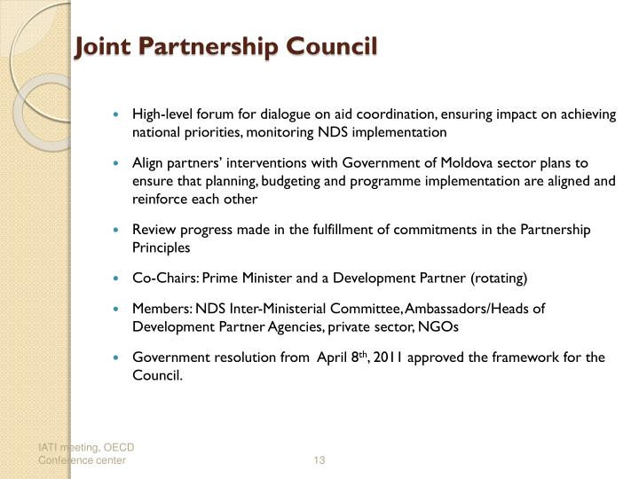 Joint Partnership Council