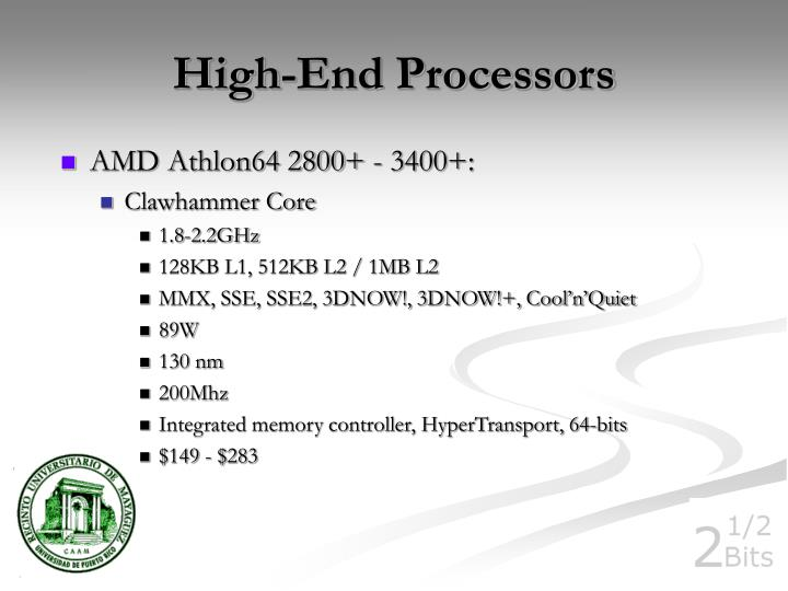 High-End Processors