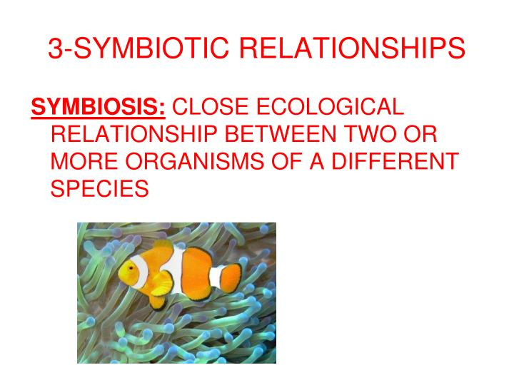 3-SYMBIOTIC RELATIONSHIPS