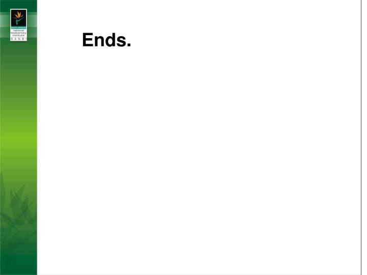 Ends.