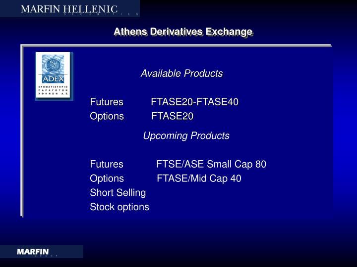 Athens Derivatives Exchange