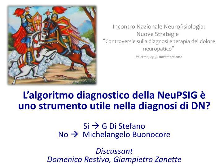 Incontro Nazionale Neurofisiologia: