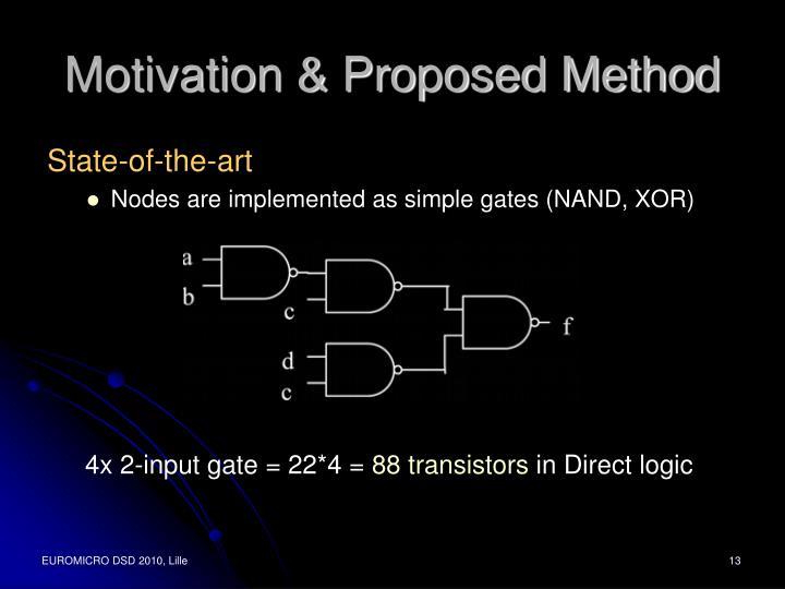 Motivation & Proposed Method
