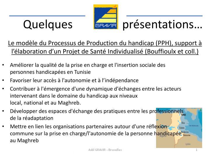 Le modèle du Processus de Production du handicap (PPH), support à l'élaboration d'un Projet de Santé Individualisé (Bouffioulx et coll.)