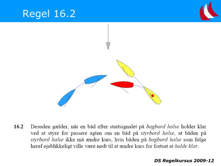 Regel 16.2