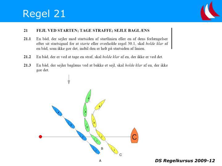 Regel 21