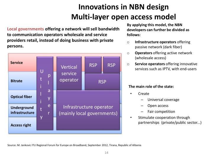 Innovations in NBN design