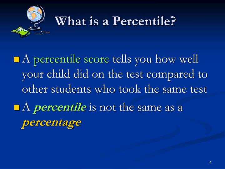 What is a Percentile?
