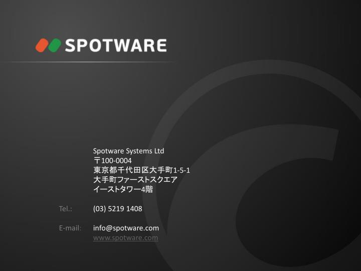 Spotware Systems Ltd