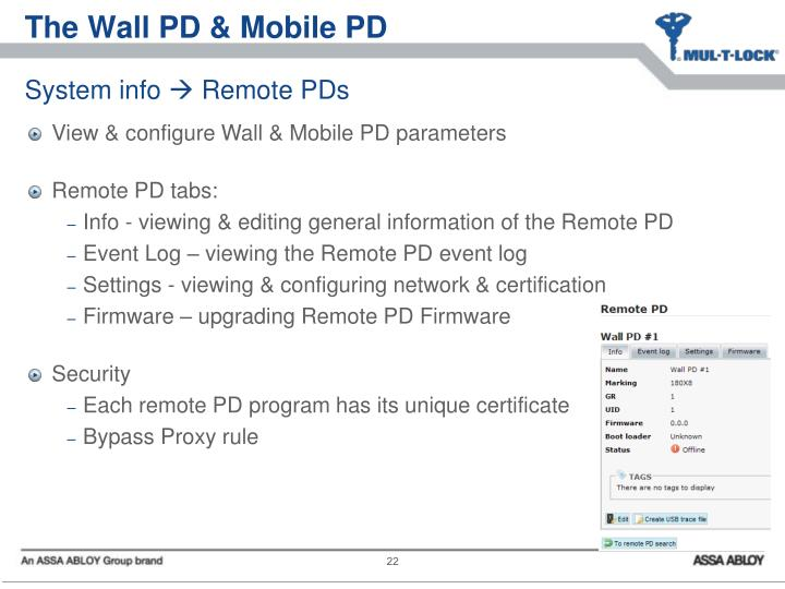 The Wall PD & Mobile PD