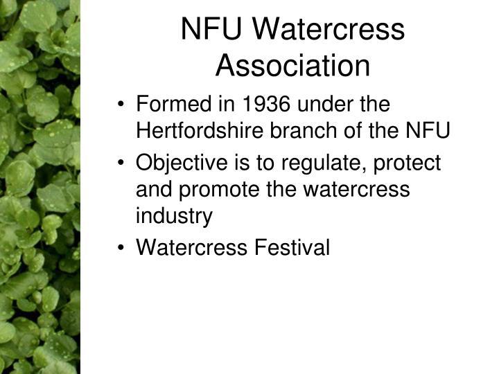NFU Watercress Association