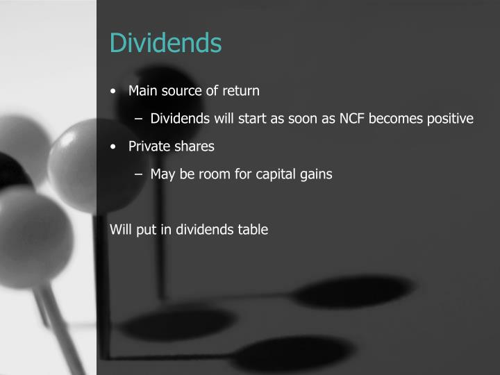 Dividends