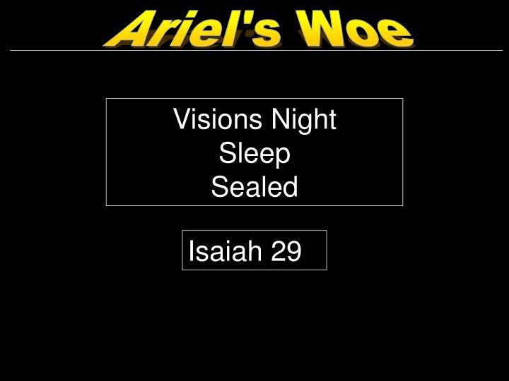Ariel's Woe