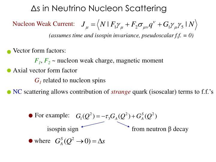 Vector form factors: