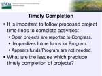 timely completion1
