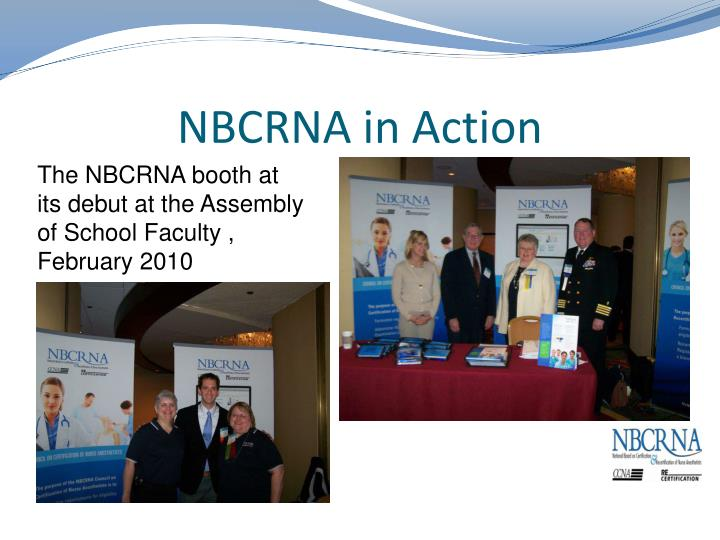 NBCRNA in Action