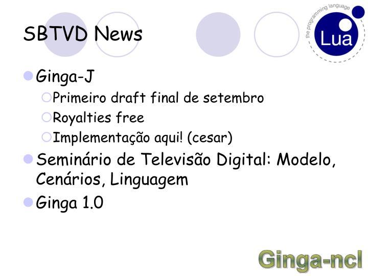 SBTVD News