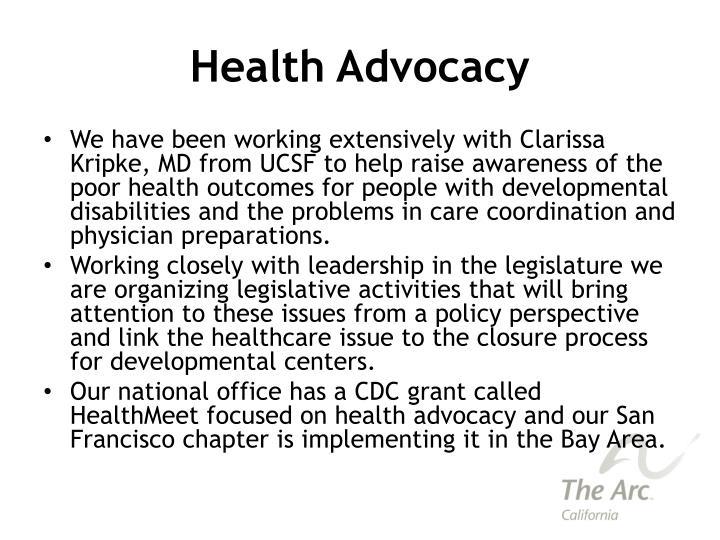 Health Advocacy