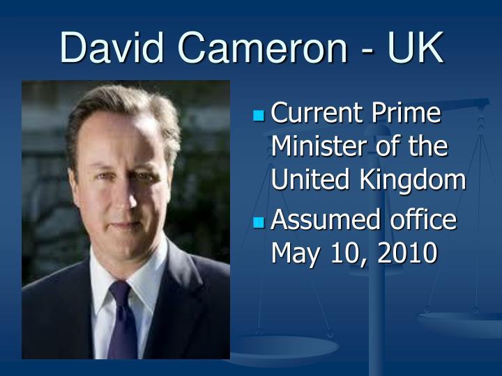 David Cameron - UK