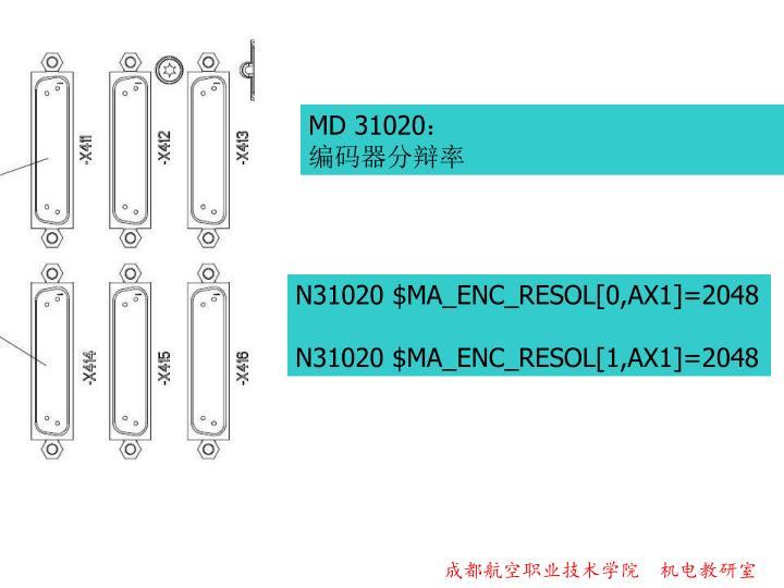 MD 31020:
