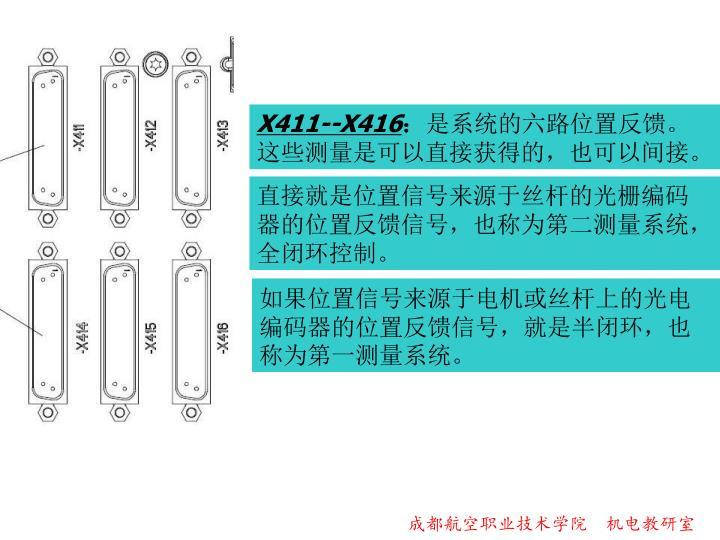 X411--X416