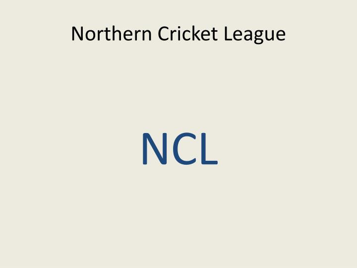 northern cricket league