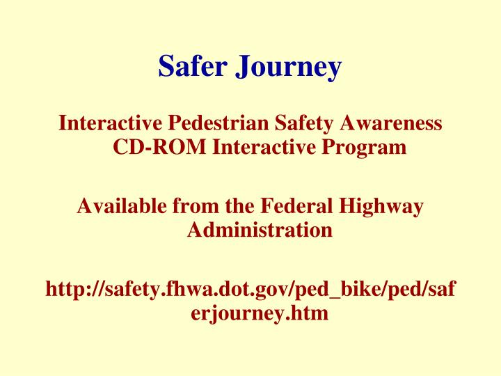 Safer Journey