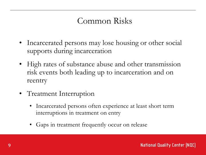Common Risks
