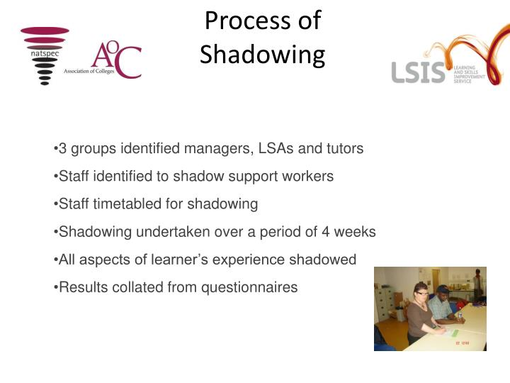 Process of Shadowing