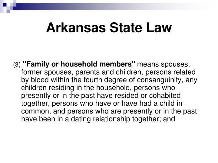 Arkansas State Law