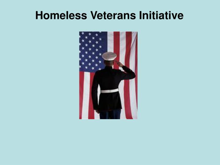 Homeless Veterans Initiative