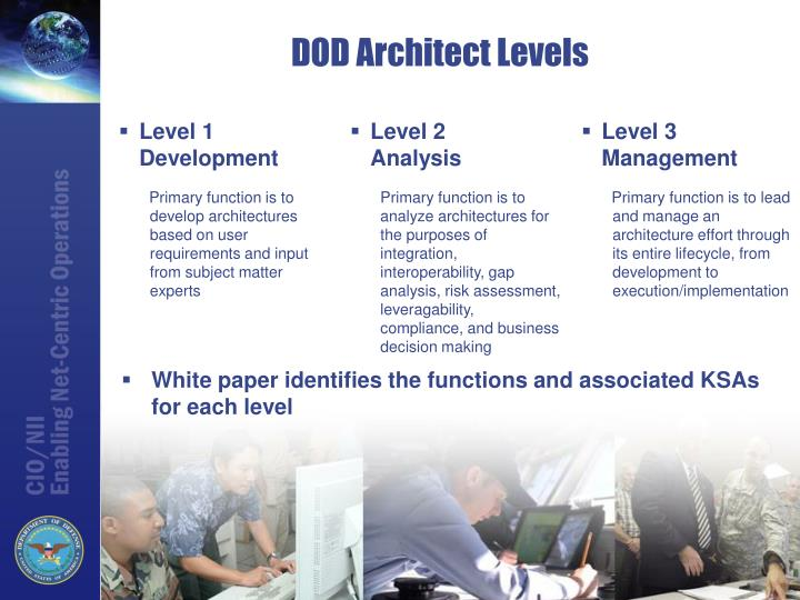DOD Architect Levels